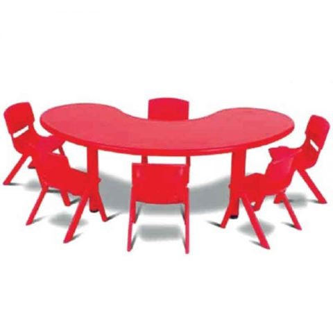 Front Round Table Plastic