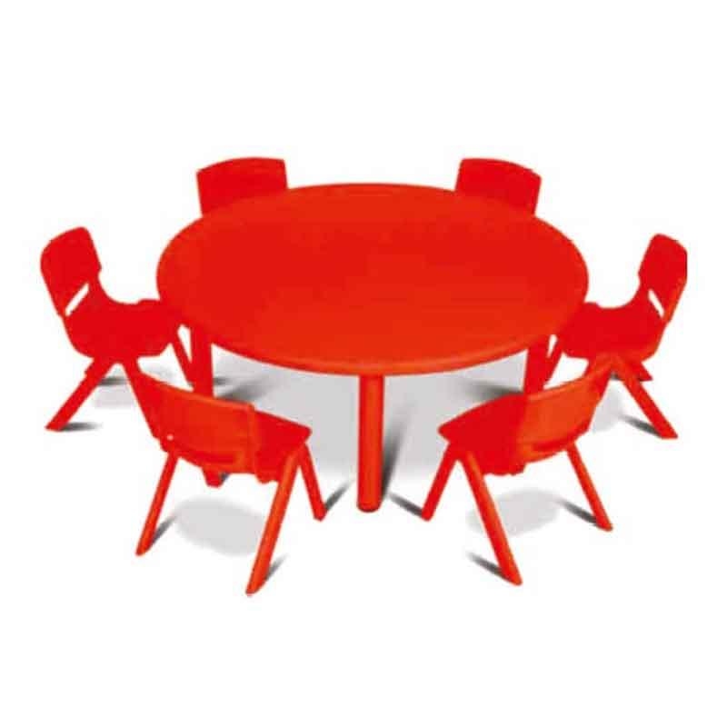 Plastic Round Table Kids, Round Table Plastic