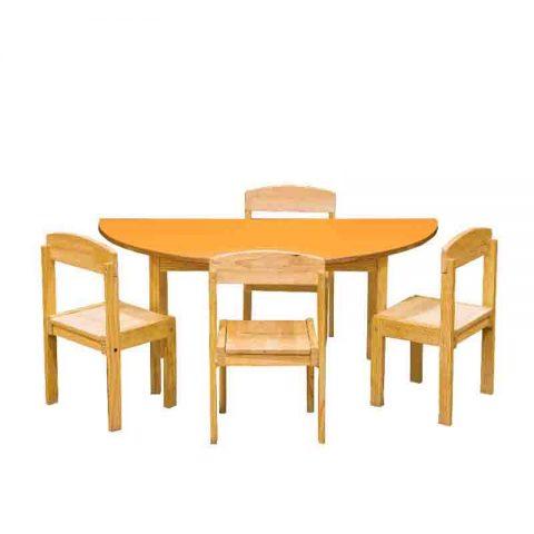 Semi Circle Table