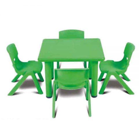 Square Table Plastic